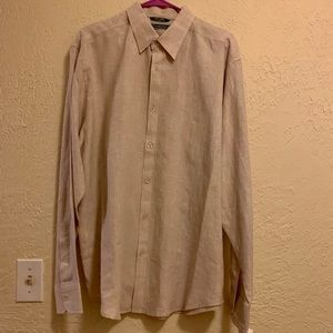 Cubavera Linen Button Down